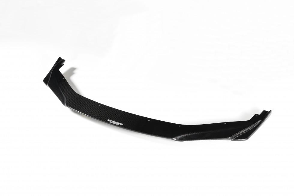 JAF公認レースで採用されたカーボンリップスポイラー